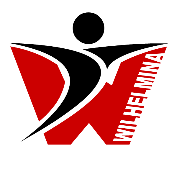 Gymnastiek Vereniging Wilhelmina Kampen - Jac-Y-Do logo design