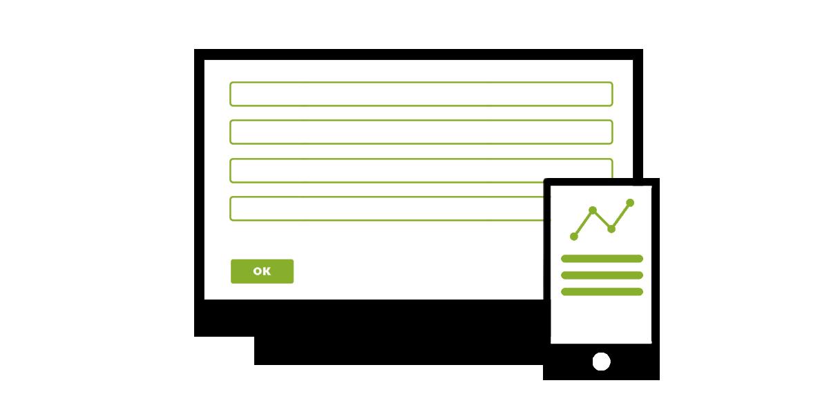 Jac-Y-Do webforms - interactieve web- en invulformulieren naar uw exacte vereisten.